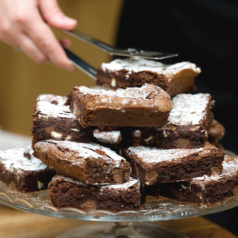 Brownie Stack Square