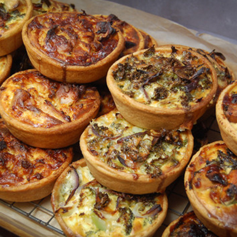 Quiches Tray Square